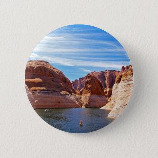 Lake Powell Page Arizona Water Reservoir Landscape Button