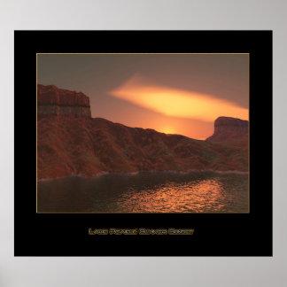 Lake Powell: Summer Sunset Poster