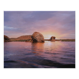 Lake Powell Sunset Poster
