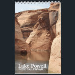 """Lake Powell Travel Photography Souvenir Calendar<br><div class=""""desc"""">Beautiful photographs of the Lake Powell Region. Beautiful formations and blue water are peaceful escapes for this full year view.</div>"""