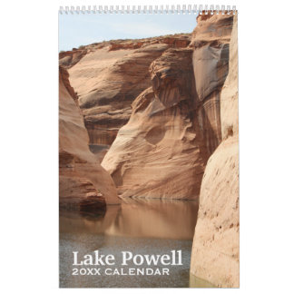 Lake Powell Travel Photography Souvenir Calendar