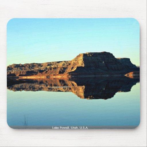 Lake Powell, Utah, U.S.A. Mouse Pad