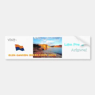 Lake Powell Vintage Style Bumper Sticker