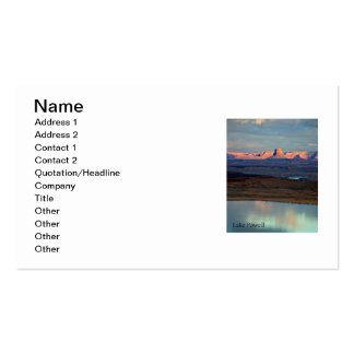 Lake Powell's Tower Butte Business Card Template