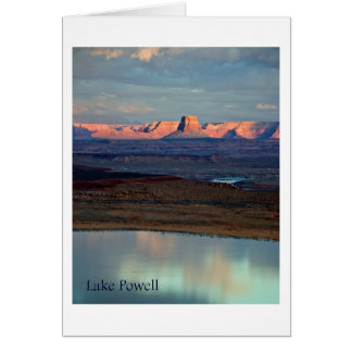 Lake Powell's Tower Butte Card