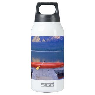 Lake Pyramid Jasper Park Alberta Canada SIGG Thermo 0.3L Insulated Bottle