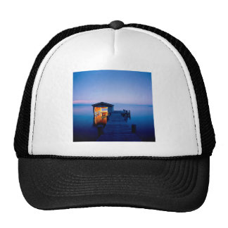 Lake Quiet Getaway Tahoe Nevada Trucker Hat