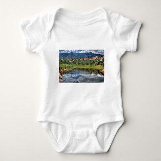Lake Reflection Baby Bodysuit