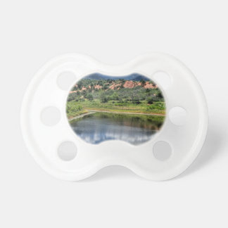 Lake Reflection Baby Pacifiers