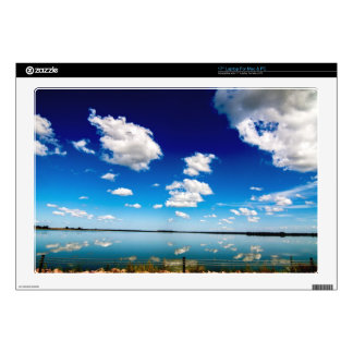 Lake reflection decal for laptop
