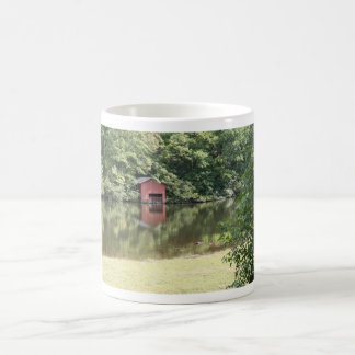 Lake Reflections Classic White Coffee Mug