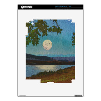 Lake Reflections Decal For iPad 2