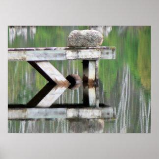 Lake Reflections I Poster