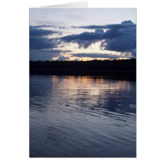 Lake Reflections II Card