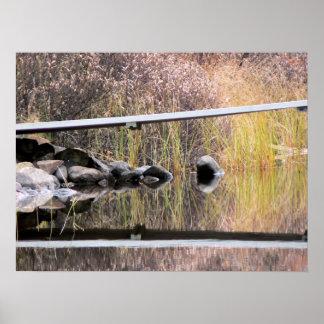 Lake Reflections II Poster