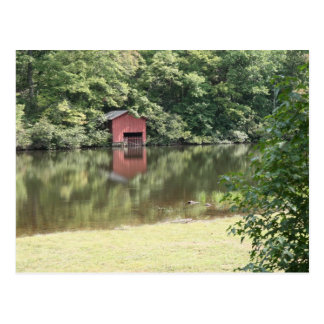 Lake Reflections Postcard