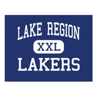 Lake Region - Lakers - High - Bridgton Maine Postcard