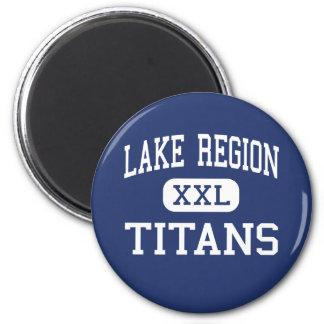 Lake Region Titans Middle Bridgton Maine Magnet