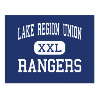Lake Region Union - Rangers - High - Orleans Postcard