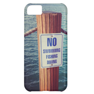 Lake Rules Photo Case For iPhone 5C