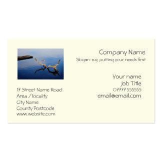 Lake s Edge generic business card template