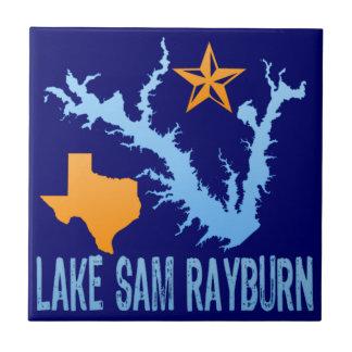 Lake Sam Rayburn, Texas Ceramic Tile