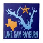 Lake Sam Rayburn, Texas Tiles