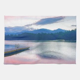 lake,santeetlah,great,smoky,mountains,north,caroli kitchen towel
