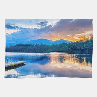 lake santeetlah great smoky mountains north caroli towels