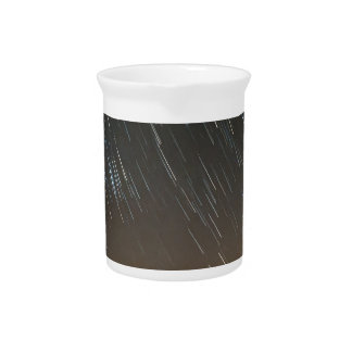 lake santeetlah starry night sky great smoky mount drink pitcher