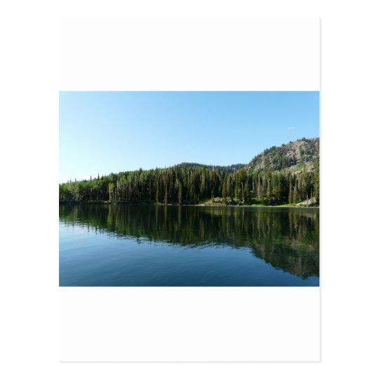 lake scene postcard