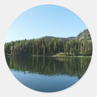 lake scene stickers