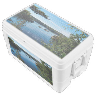 Lake Scenery 48 Quart Duo Deco Igloo cooler