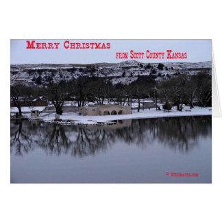 Lake Scott Christmas Card