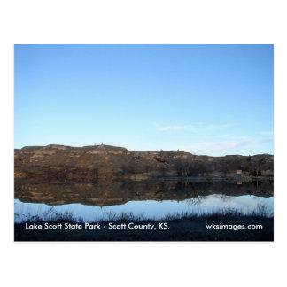 Lake Scott Reflections Postcard