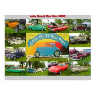 Lake Scott Rod Run 2006 Postcard