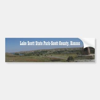 Lake Scott State Park Bumper Sticker
