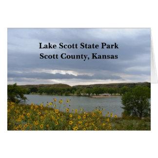 Lake Scott State Park Greeting Cards