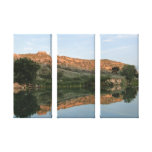 Lake Scott State Park - Reflection Wrapped Canvas Canvas Print