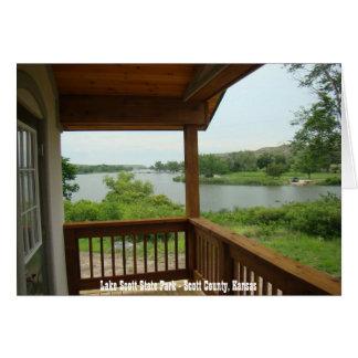 Lake Scott State Park - Scott County, Kansas Greeting Cards