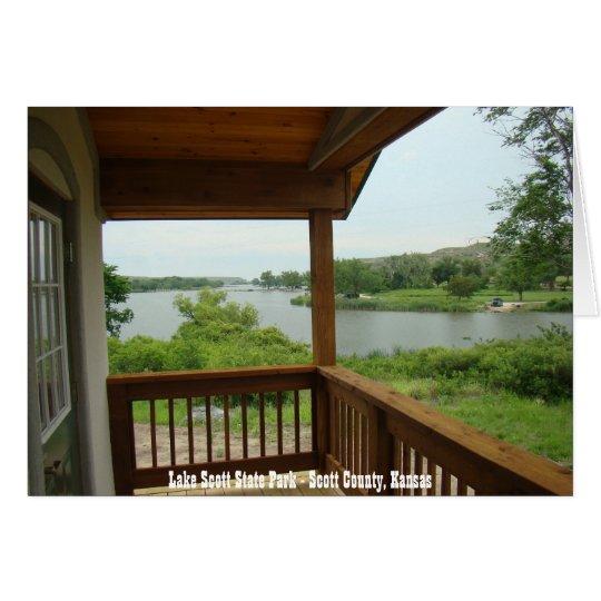 Lake Scott State Park - Scott County, Kansas Card