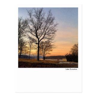 Lake Scranton Postcard-Sunrise Postcard