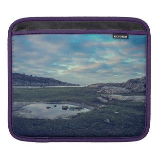 Lake Sea Mirror iPad Sleeve