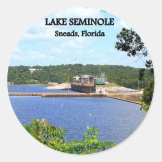LAKE SEMINOLE - Sneads, Florida Classic Round Sticker