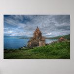 Lake Sevan, Armenia Poster