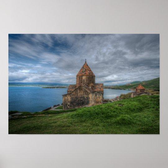 Lake Sevan: Lake Sevan, Armenia Poster