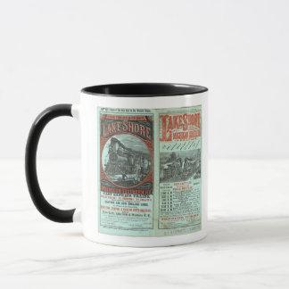 Lake Shore and Michigan So Railway Mug