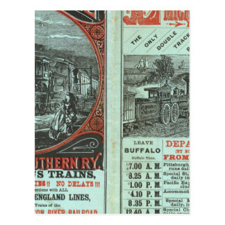 Lake Shore and Michigan So Railway Postcard