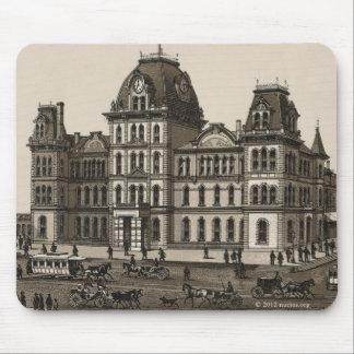 Lake shore depot, Chicago (C. 1880) Mousepads