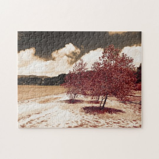 Lake shore jigsaw puzzle